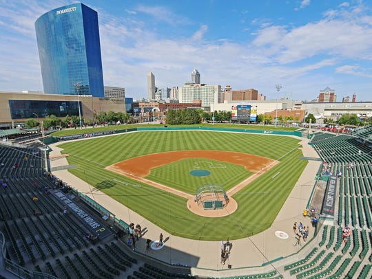 Victory Field, home of the AAA Indianapolis Indians,