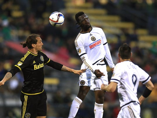 USP MLS: PHILADELPHIA UNION AT COLUMBUS CREW SC S SOC USA OH