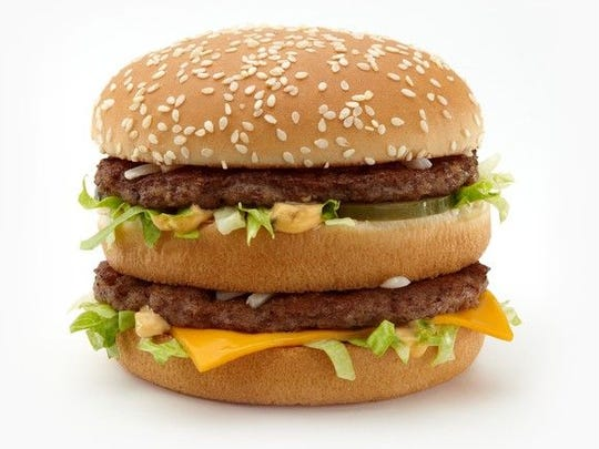A Big Mac priced at $4.09 will be 2 cents cheaper beginning