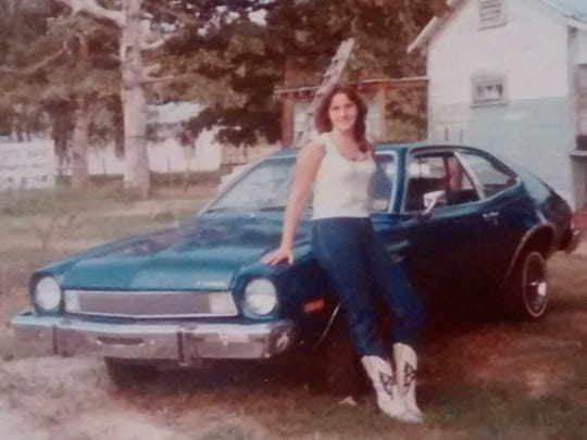 "We asked folks to tell us about their first car. Doris Whatley of Natchitoches had ""Blue Sue,"" a blue 1975 Ford Pinto she bought in 1981."