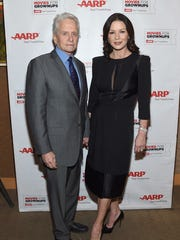 Michael Douglas attends the Movie For Grownups Gala