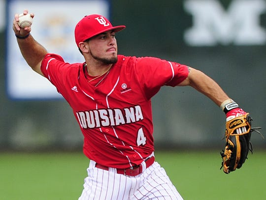"UL is seeking a successor to shortstop Blake Trahan, who was drafted in the third round of the 2015 MLB Draft by the Cincinnati Reds. Paul Kieu, The Advertiser  UL shortstop Blake Trahan (4) will be a player to watch in this weekend?s Super Regional. AP PHOTOS UL shortstop Blake Trahan and LSU shortstop Alex Bregman. UL shortstop Blake Trahan (4) throws a ground ball for an out at first base during the fourth inning of an NCAA baseball game against Texas Southern at M.L. ""Tigue"" Moore Field in Lafayette, LA, Saturday, March 8, 2014.    Paul Kieu, The Advertiser"