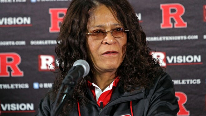 Rutgers women's basketball coach C. Vivian Stringer will miss Saturday's game to tend to her ill mother.