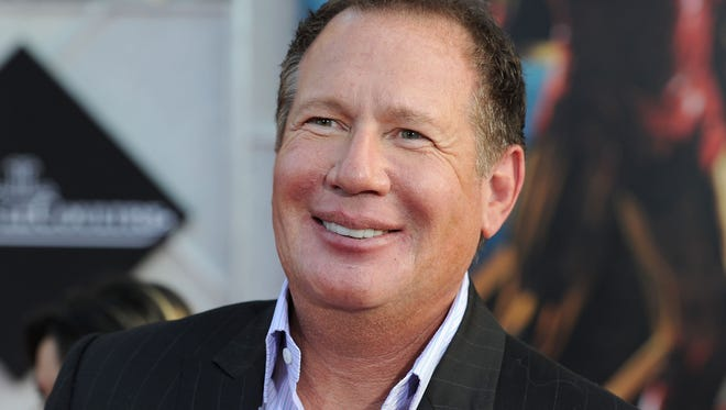 """Garry Shandling arrives at the world premiere of """"Iron Man 2"""" in 2010."""