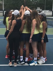 Country Day's girls tennis team was near-perfect in