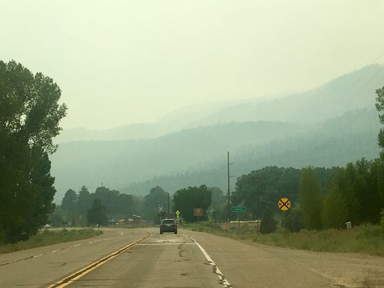 Air quality was poor in the Hermosa, Colorado, area