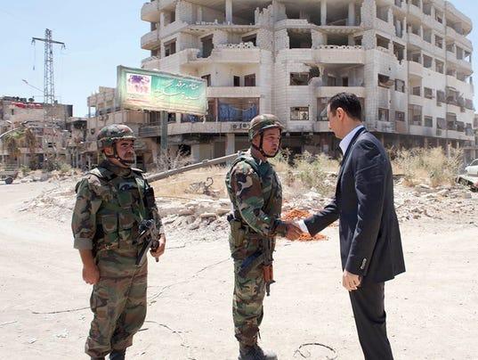 AP Mideast Syria Running For President