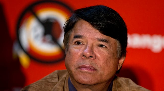 """Ray Halbritter, Oneida Indian Nation represented, said he was """"disappointed"""" by what he heard at Wednesday's meeting with NFL representatives about the Washington pro football club's continuining use of its team nickname that is offensive to the Oneidas."""