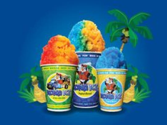Eugene and Jeannie Brizendine are owners of Kona Ice