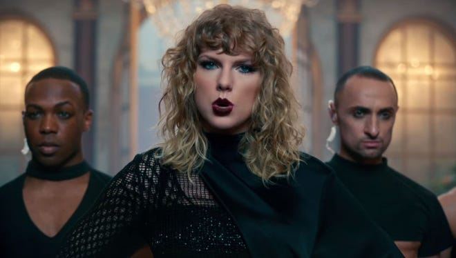 Taylor Swift's new video, 'Look What You Made Me Do,' premiered on Sunday.