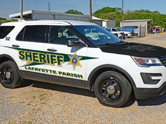 A mockup of the new design for Lafayette Parish Sheriff's Office vehicles