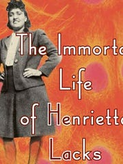 """Detail from the cover of """"The Immortal Life of Henrietta Lacks"""""""