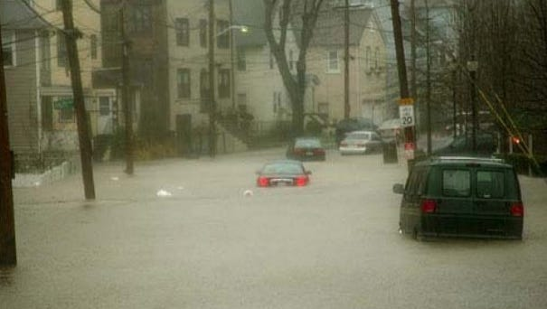 The April 2007 flood destroyed hundreds of homes and businesses.