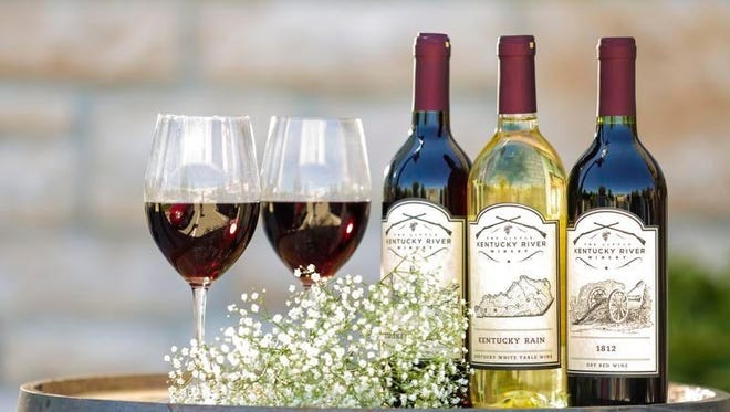 Wines by The Little Kentucky River Winery.