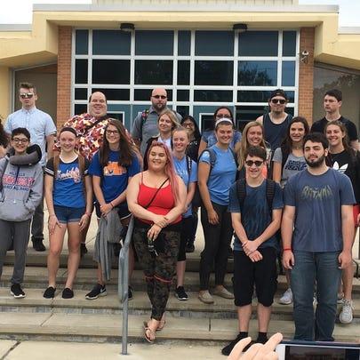 Members of Millville High School's German club traveled