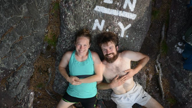 "Chris Gallaway, of Black Mountain, and his wife, Sunshine Gallaway, have released their co-produced documentary, ""The Long Start to the Journey,"" about Chris' seven-month thru-hike of the Appalachian Trail. Sunshine, a two-time thru-hiker, hiked with Chris on about 350 miles of the 2,180-mile trail. Part of the journey included a marriage proposal."