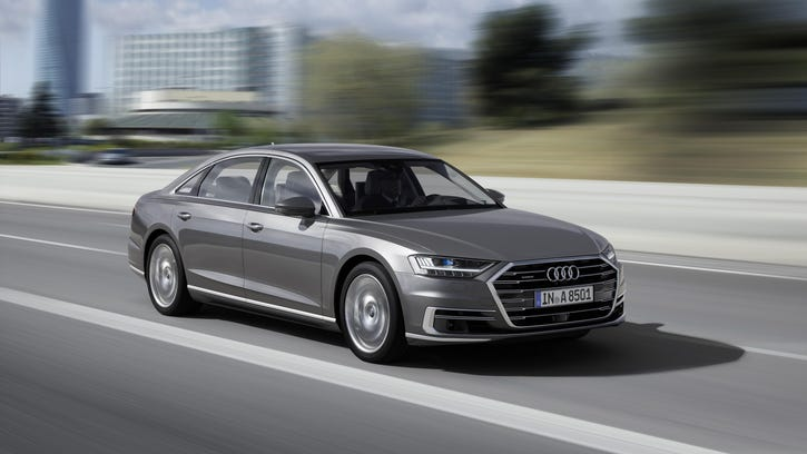 Audi's new flagship A8 is a technology showcase
