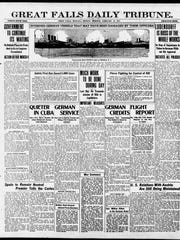Tribune front page: Feb. 19, 1917