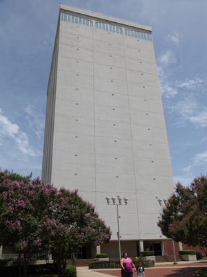 Wyly Tower of Learning on the campus of Louisiana Tech University will be demolished because of long-term concerns about the structure.