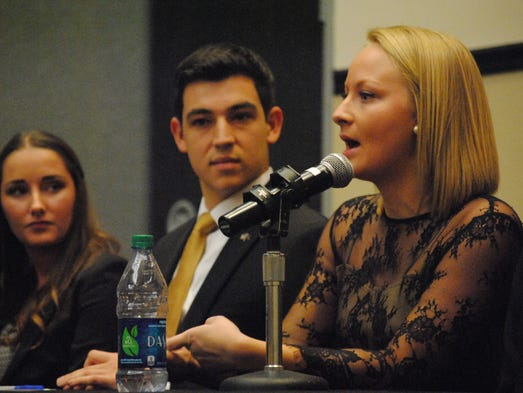 Presidential candidate Cait Zona plans to lobby in