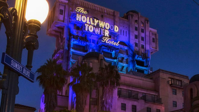 The Twilight Zone Tower of Terror ride is running its last Halloween season in Anaheim, Calif.