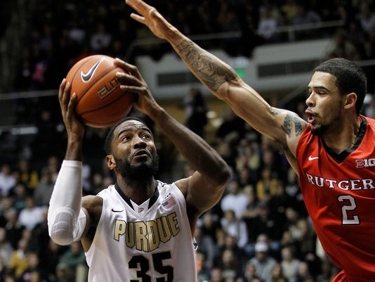 LAF Purdue men's basketball gamer Rutgers Feb 26