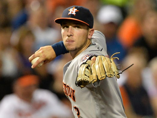 3B Alex Bregman, Astros, 2016