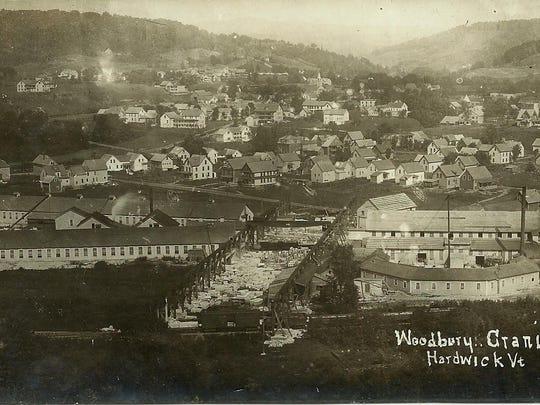 Woodbury Granite Company postcard