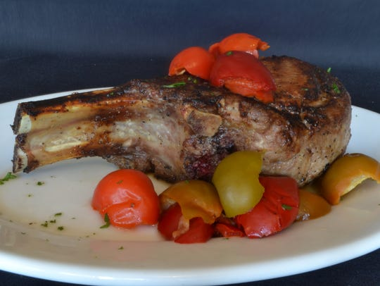 Pork Chop with Peppers I