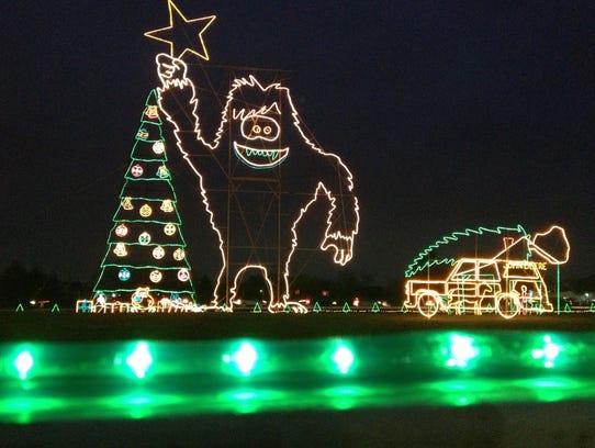 the reynolds farm equipment christmas lights display - Christmas Lights Indianapolis