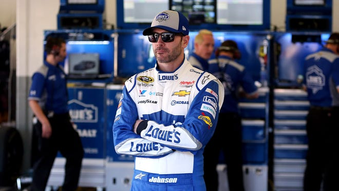 Six-time Cup champion Jimmie Johnson said he hopes NASCAR keeps taking more and more downforce off the cars.
