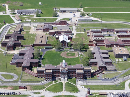 An aerial photo of the US Medical Center for Federal