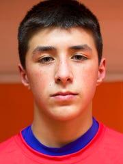 Eli Rodriguez, Norwich 99-pound weight class.