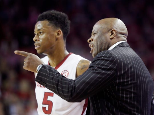 Arkansas coach Mike Anderson and his Razorbacks have won the last three games against Kentucky.