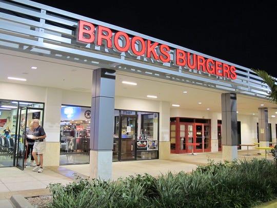 Brooks Burgers has locations around Naples.