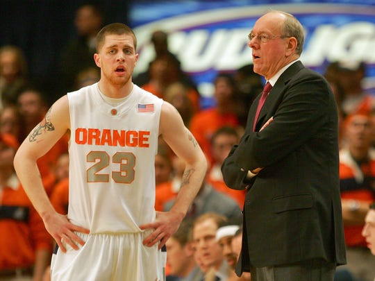 "Eric Devendorf was in and out of trouble during his three seasons at Syracuse, but he changed enough to be hired last year as an assistant strength and conditioning coach for Jim Boeheim's team. ""When he was (a player) I never would have thought I'd ever offer him a position in our program. He deserves a lot of credit. It's great when you can see kids develop,"" Boeheim says."