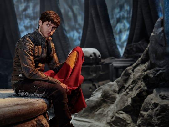 Cameron Cuffe plays Superman's grandfather Seg-El in