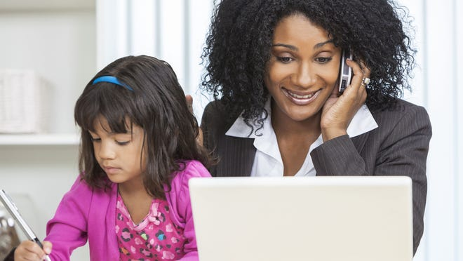 Working mothers draw strength from a variety of areas to fight feelings of being overwhelmed.