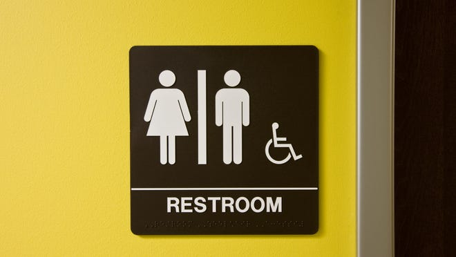Getty Images/iStockphoto Restroom Sign