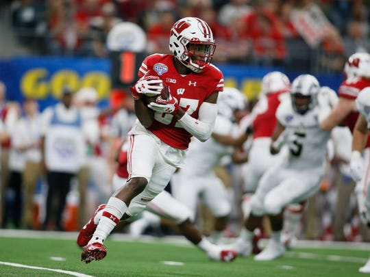 Wisconsin receiver Quintez Cephus lost his father this spring.