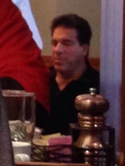 Lou Ferrigno at breakfast at the Madison Sheraton on