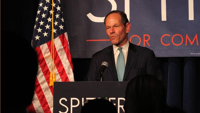 Former New York governor Eliot Spitzer concedes in the Democratic primary for NYC comptroller.