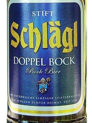 Schlagl Doppel Bock, from Stiftsbrauerei Schlagl in Aigen, Austria, is 8.3% ABV.