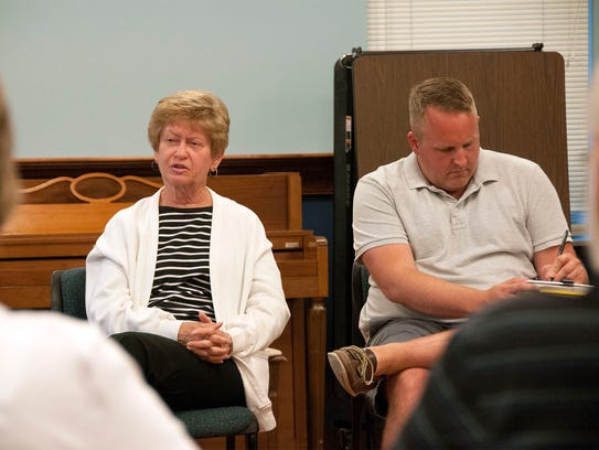 Port Clinton city councilpersons Margaret Phillips