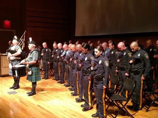 The Atlantic County Polcie Academy on Thursday graduated
