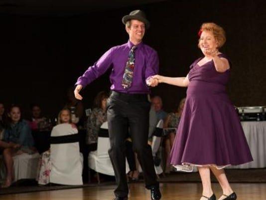 Sue Ott Rowlands and Matt Simkus