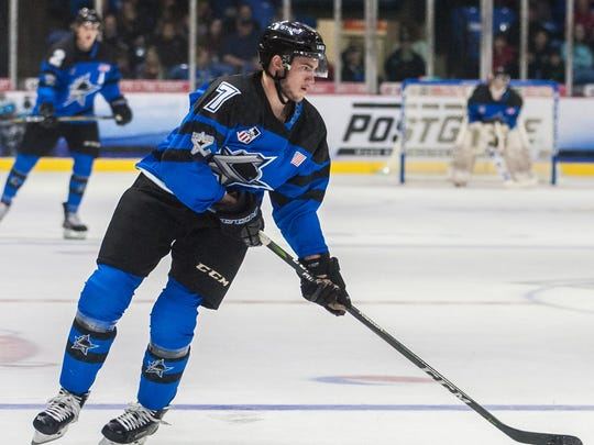 Novi's Christian Krygier was taken in the seventh round of the NHL Draft by the New York Islanders.