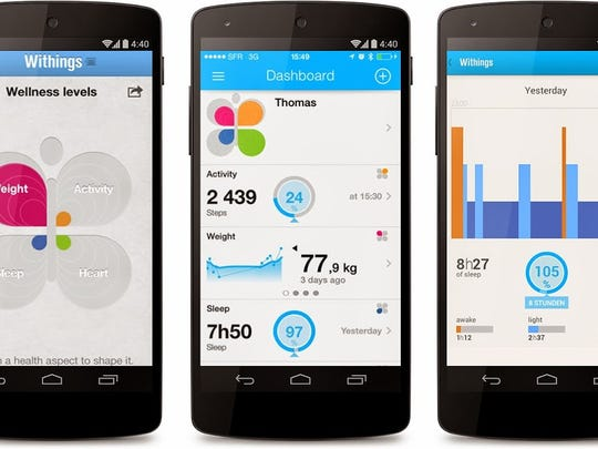 Health Mate from Withings can help get you on the path