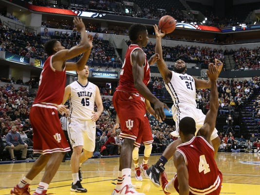 NCAA Basketball: Crossroads Classic-Butler vs Indiana