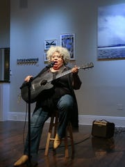 """Ossining jazz singer and songwriter K. J. Denhert will perform at """"Songs of Protest 2: Music That Changed the World"""" on April 7 at the old Nyack High School."""